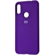 Акция на Чехол Silicone Cover Full Protective (AA) для Xiaomi Redmi Note 6 Pro Фиолетовый / Purple от Allo UA