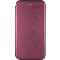Акция на Кожаный чехол (книжка) Classy для Samsung Galaxy A51 Бордовый от Allo UA