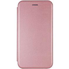 Акция на Кожаный чехол (книжка) Classy для Samsung Galaxy M31 Rose Gold от Allo UA