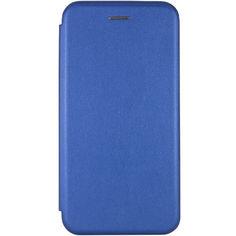 Акция на Кожаный чехол (книжка) Classy для Samsung Galaxy M31 Синий от Allo UA