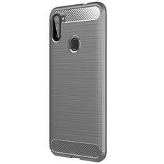 Акция на TPU чехол Slim Series для Samsung Galaxy M11 Серый от Allo UA