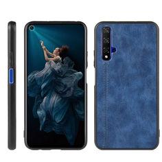 Акция на Кожаный чехол Line для Samsung Galaxy A11 Синий от Allo UA