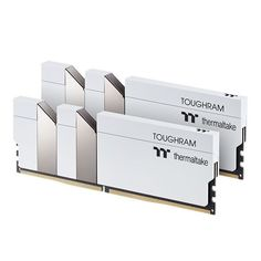 Акция на Память для ПК Thermaltake TOUGHRAM DDR4 3600 16GB KIT (8GBx2) White (R020D408GX2-3600C18A) от MOYO