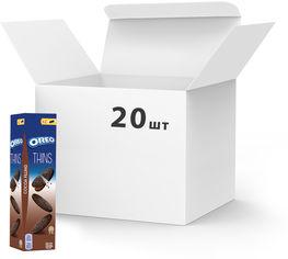 Упаковка печенья Oreo тонкого с какао и кремовой начинкой из какао 96 г х 20 шт (7622210627285) от Rozetka