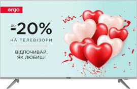 Акция на Телевизор Ergo 43DFT7000 от Rozetka
