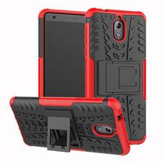 Акция на Чехол Armor Case для Nokia 3.1 Красный от Allo UA