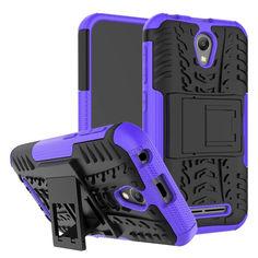 Акция на Чехол Armor Case для ZTE Blade L110 Фиолетовый от Allo UA