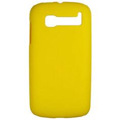 Акция на Чехол Colored Plastic для Alcatel OneTouch POP C5 5036X / 5036D Желтый от Allo UA