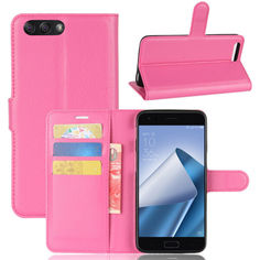 Акция на Чехол-книжка Litchie Wallet для Asus Zenfone 4 ZE554KL Rose от Allo UA
