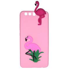Акция на Чехол Cartoon 3D Case для Huawei P10 Plus Фламинго от Allo UA