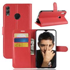 Акция на Чехол-книжка Litchie Wallet для Honor 8X Max Красный от Allo UA