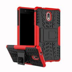 Акция на Чехол Armor Case для Nokia 3 Красный от Allo UA