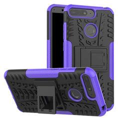 Акция на Чехол Armor Case для Huawei Y6 Prime 2018 Фиолетовый от Allo UA