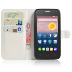Акция на Чехол-книжка Litchie Wallet для Alcatel One Touch Pixi 4 5010D (5.0) Белый от Allo UA