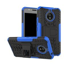 Акция на Чехол Armor Case для Motorola Moto E4 Plus XT1771 Синий от Allo UA