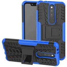 Акция на Чехол Armor Case для Nokia 5.1 Plus (X5) Синий от Allo UA