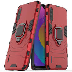 Акция на Чехол Ring Armor для Xiaomi Mi 9 Lite / Mi CC9 / Mi A3 Lite Red от Allo UA