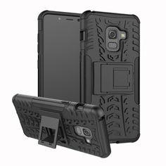 Акция на Чехол Armor Case для Samsung A530 Galaxy A8 2018 Черный от Allo UA