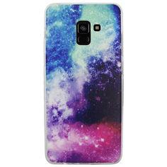 Акция на Чехол с рисунком Printed Silicone для Samsung A730 Galaxy A8+ 2018 Космос от Allo UA