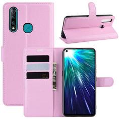 Акция на Чехол-книжка Litchie Wallet для Vivo Z5X / Z1 Pro Pink от Allo UA