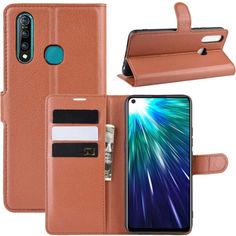 Акция на Чехол-книжка Litchie Wallet для Vivo Z5X / Z1 Pro Brown от Allo UA