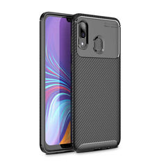 Акция на Чехол Carbon Case Samsung A205 Galaxy A20 / A305 Galaxy A30 Черный от Allo UA