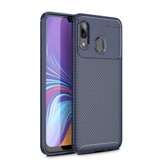 Акция на Чехол Carbon Case Samsung A205 Galaxy A20 / A305 Galaxy A30 Синий от Allo UA