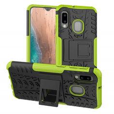 Акция на Чехол Armor Case для Samsung Galaxy A20 / Galaxy A30 Лайм от Allo UA