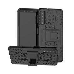Акция на Чехол Armor Case для Samsung A750 Galaxy A7 2018 Черный от Allo UA
