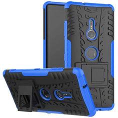 Акция на Чехол Armor Case для Sony Xperia XZ3 Blue от Allo UA