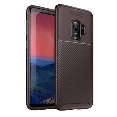 Акция на Чехол Carbon Case Samsung G960 Galaxy S9 Коричневый от Allo UA