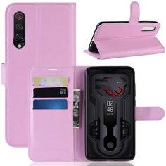 Акция на Чехол-книжка Litchie Wallet для Xiaomi Mi 9 Светло-розовый от Allo UA
