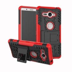 Акция на Чехол Armor Case для Sony Xperia XZ2 Compact Красный от Allo UA
