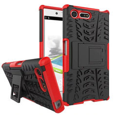 Акция на Чехол Armor Case для Sony Xperia X Compact F5321 Красный от Allo UA