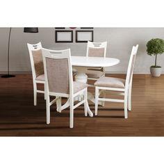 Акция на Стол обеденный МИКС-Мебель Триумф 105(145)х75 см ваниль от Allo UA