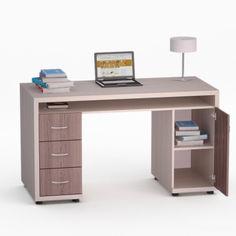 Акция на Компьютерный стол МоКос-17 FlashNika Коимбра + Дуб Лимберг от Allo UA