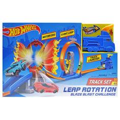 """Акция на Трек-запуск YG Toys Хот вил """"Truck"""" (+1 металева машинка) 57*36*7см різнобарвний 5789 от Allo UA"""