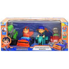 Акция на Игровой набор YG Toys Машина с героями 35,7 * 14 * 16см. разноцветный CH-401T от Allo UA