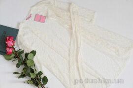 Акция на Халат женский Ellen LND 033/001 молочный валентинка L от Podushka