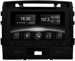 Акция на Автомагнитола штатная Gazer CM6510-J200 для Toyota LC 200 (J200) 2007-2015 от Rozetka