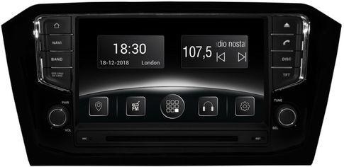 Акция на Автомагнитола штатная Gazer CM6008-3G2 для VW Passat B8 (3G2) 2014-2017 от Rozetka