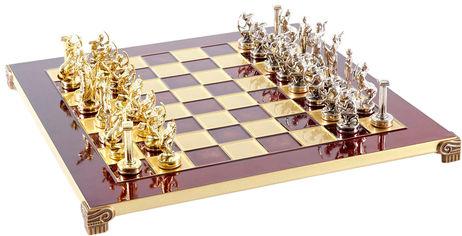 Акция на Шахматы Manopoulos Греческая мифология в деревянном футляре 36х36 см (S5RED) от Rozetka