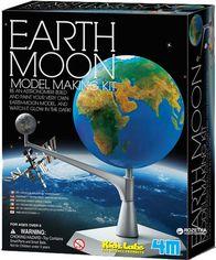 Акция на Модель Земля-Луна своими руками 4M (00-03241) от Rozetka