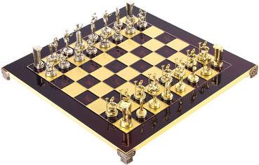 Акция на Шахматы Manopoulos Минойский воин в деревянном футляре 36 х 36 см 4.8 кг (S8RED) от Rozetka