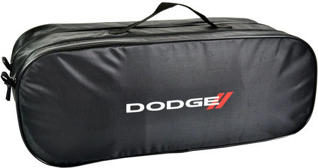 Акция на Сумка-органайзер в багажник Додж черная размер 50 х 18 х 18 см (03-054-2Д) от Rozetka