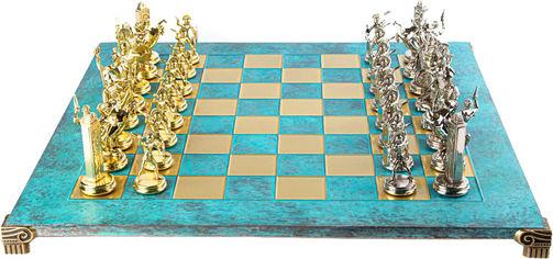 Акция на Шахматы Manopoulos Греческая мифология в деревянном футляре венге 54 х 54 см 9.8 кг (S19TIR) от Rozetka