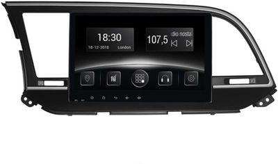 Акция на Автомагнитола штатная Gazer CM6510-UD для Hyundai Elantra (UD) 2016-2017 от Rozetka