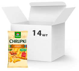 Упаковка кукурузных снеков Przysnacki c арахисом 14 шт х 150 г (5900073020453) от Rozetka