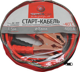 Стартовые провода ProSwisscar BC-400 400 А 3.5 м (000186) от Rozetka