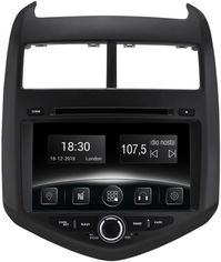 Акция на Автомагнитола штатная Gazer CM6008-T300 для Chevrolet Aveo (T300) 2011-2016 от Rozetka